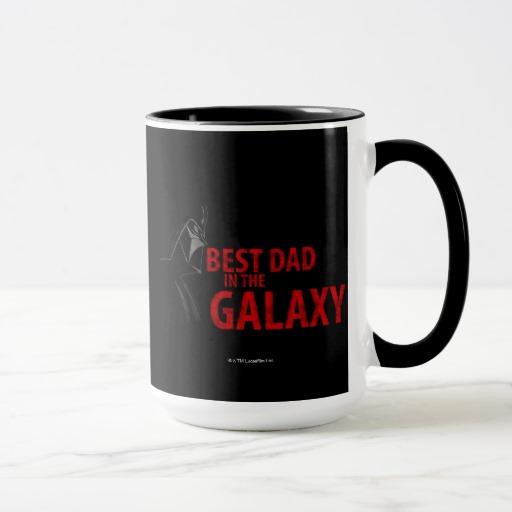best dad in the galaxy mug