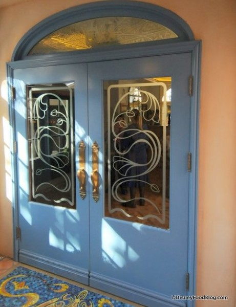 Club 33 Inside Entrance
