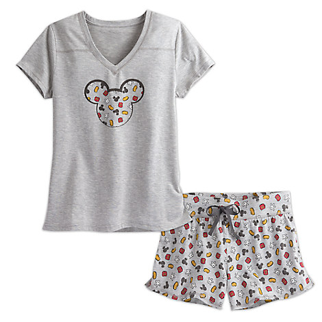 Mickey Shorts Sleep Set