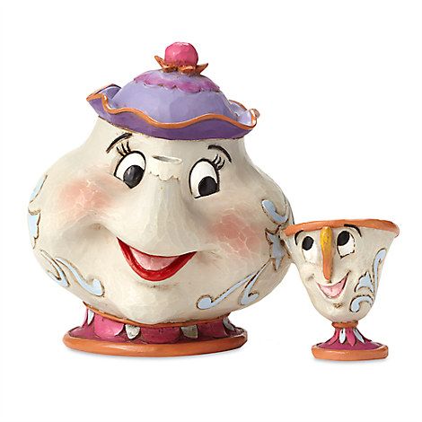 "Mrs. Potts and Chip ""A Mother's Love"" Set by Jim Shore"