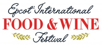 2017 Epcot Food and Wine Festival Logo Disney