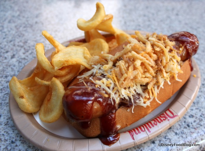 Barbecue Crunch Dog at Award Wieners