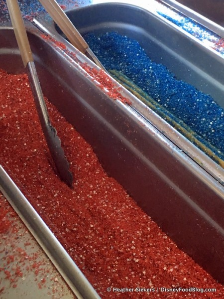 Blue and Red Sugar