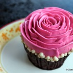 Review: Seasonal Raspberry Rose Cupcake at the BoardWalk Bakery in Disney World