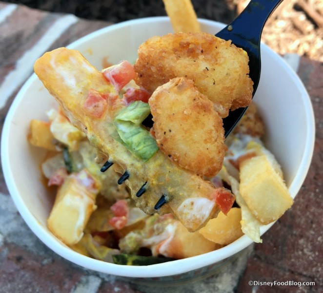 Cheeseburger Poutine Fried Cheese Curds