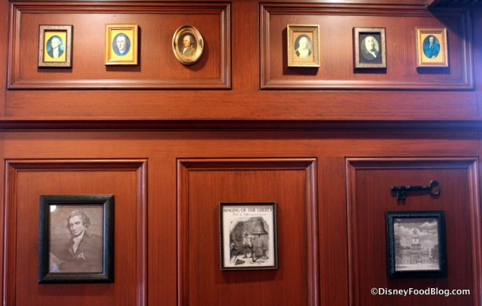 Framed Pictures and Paneling