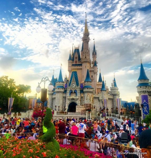It's a Gorgeous Magic Kingdom Night!