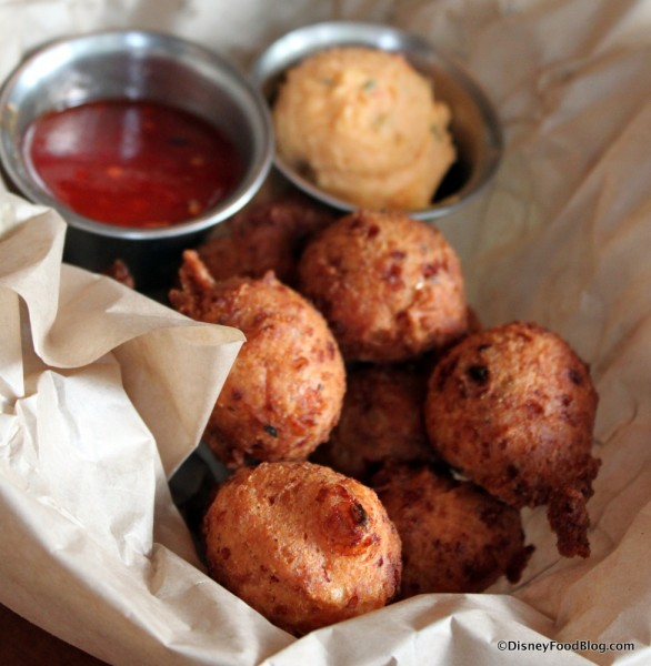 Hush Puppies with Pimento Cheese