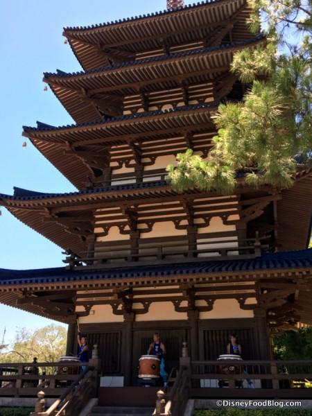 Japan Pavilion Pagoda