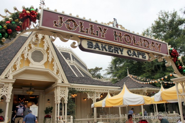 Jolly Holiday Bakery Cafe Sign