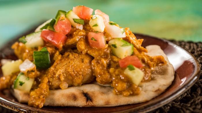 Korma Chicken, India Booth ©Disney