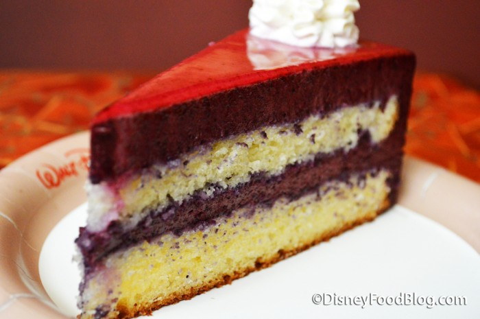Lemon Berry Mousse Cake