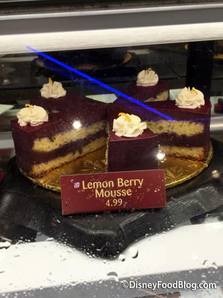 Sunshine Seasons Lemon Berry Mousse