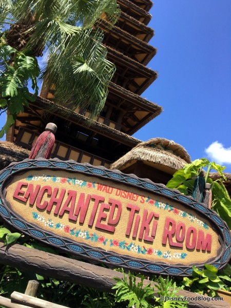 Walt Disney's Enchanted Tiki Room in Magic Kingdom