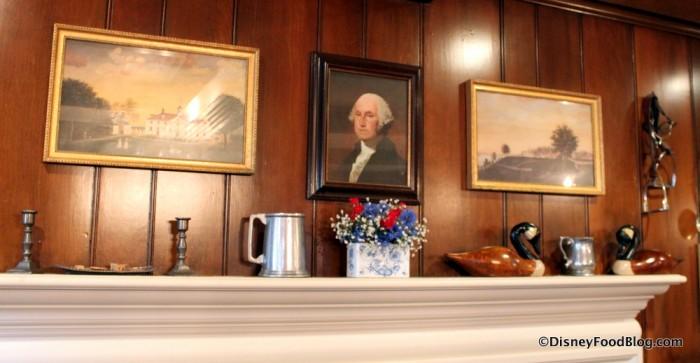 Mantel in the George Washington Room