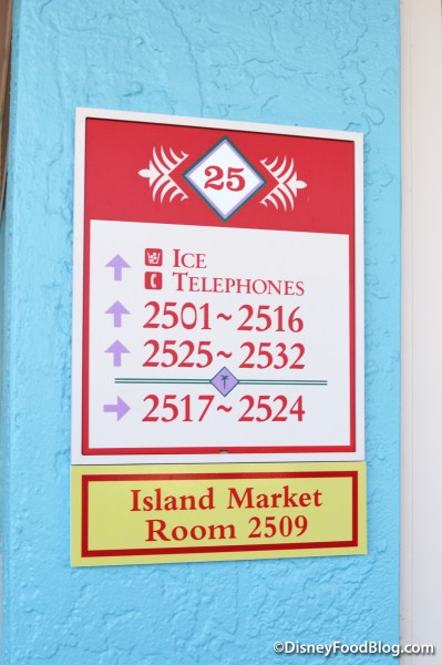Martinique Island Market Sign