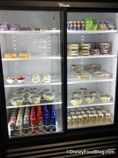 Cooler with Grab and Go Options