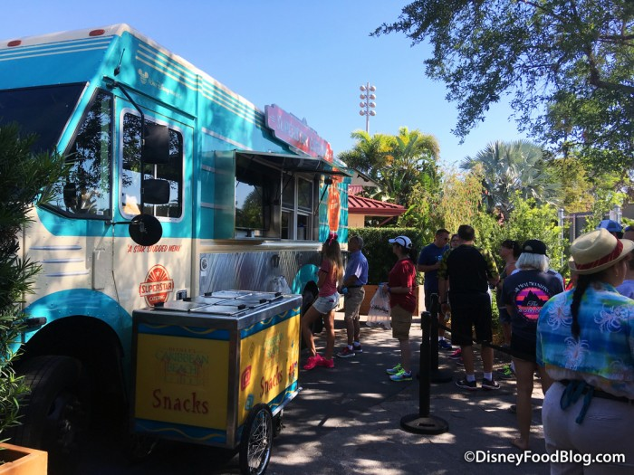 Food Truck in New Food Area