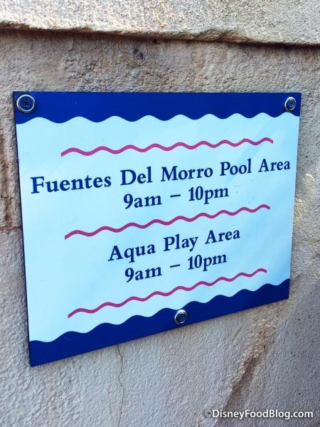 Fuentes Del Morro Pool Area