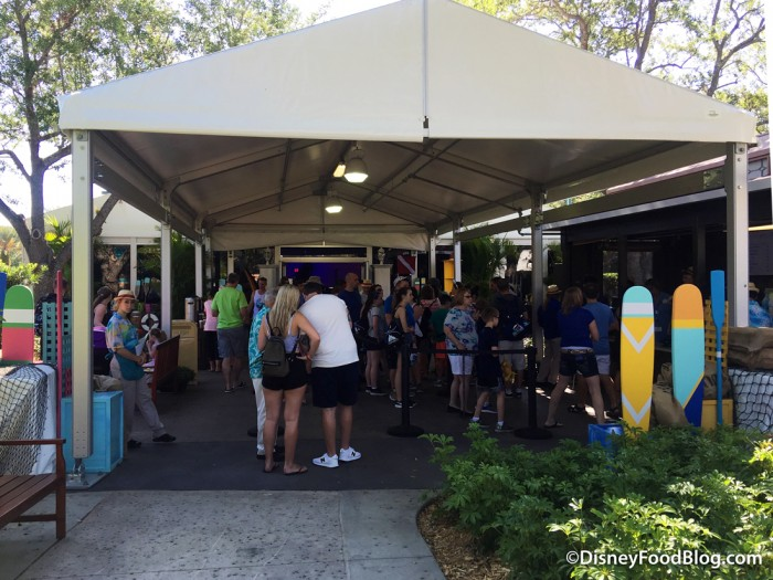 Covered Food Area & News and Photo Tour: Disneyu0027s Caribbean Beach Resort Dining ...