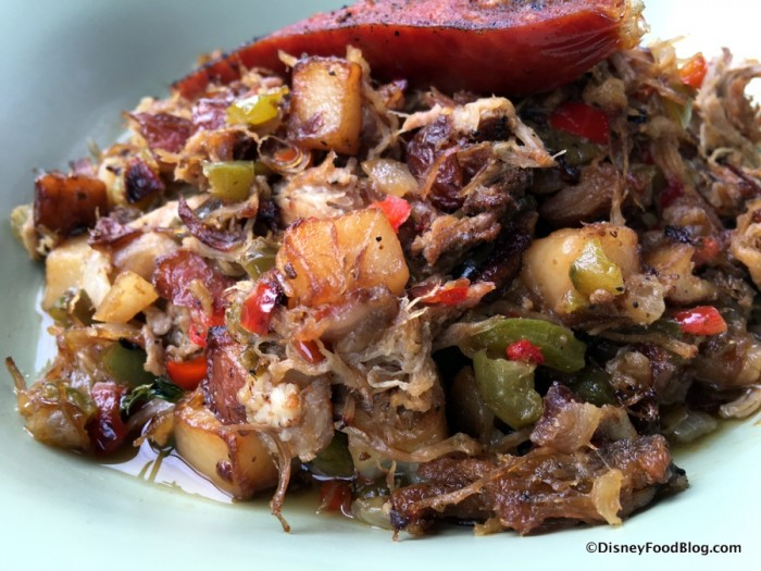 Slow-Roasted Pork Shoulder Potato Hash