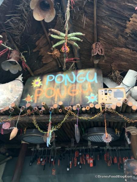 Pongu Pongu sign