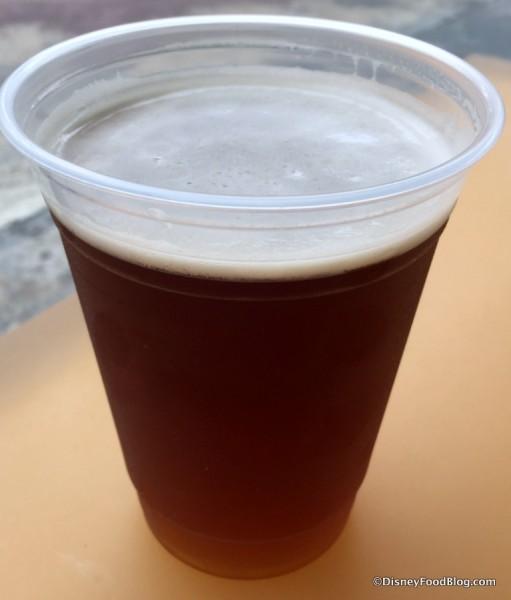Mo'ara High Country Ale at Satu'li Canteen