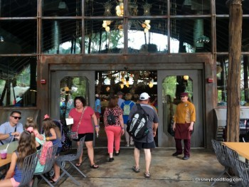 Pandora World of Avatar Satuli Canteen outside entrance May 2017 2
