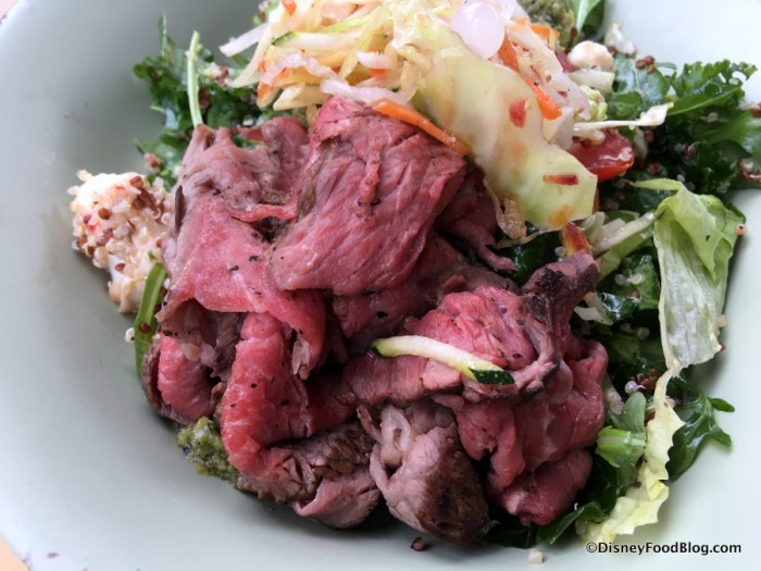 Slow-roasted Sliced Grilled Beef Bowl