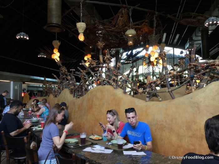 Satu'li Canteen Indoor Dining Area