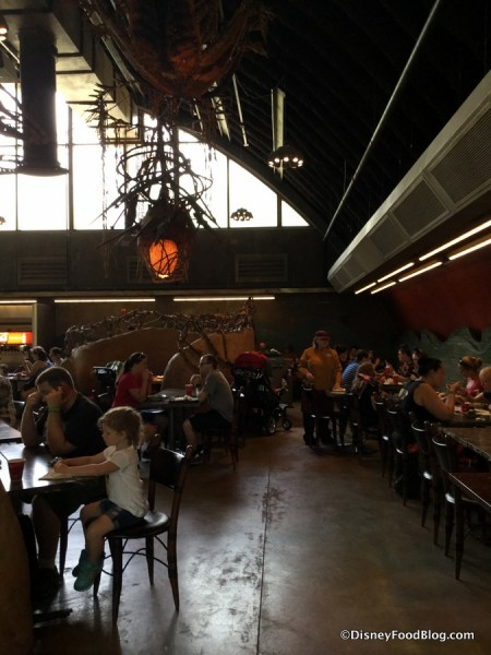 Satu'li Canteen Indoor Dining Area