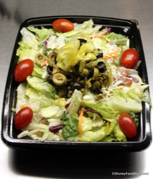 Planetary Pizza Salad
