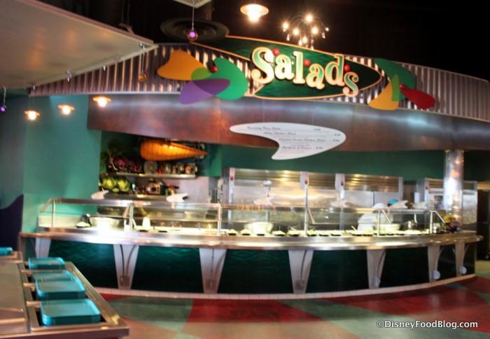 Pizza Port Salad Station