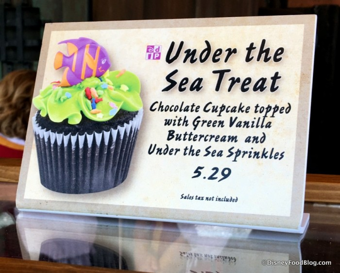 Under the Sea Treat sign