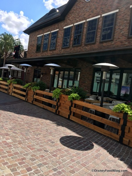 STK Outside View and Outdoor Seating