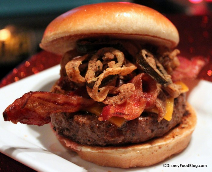 Sci-Fi Drive In BBQ Burger