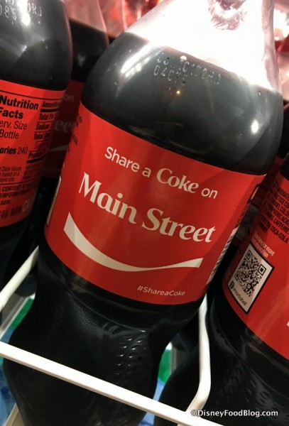 """Share a Coke on Main Street"" Specialty Bottle"
