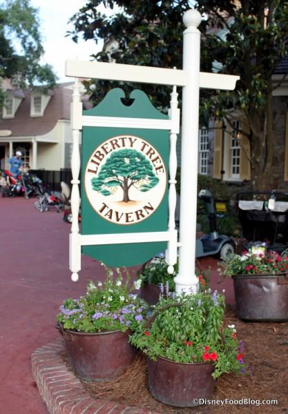 Liberty Tree Tavern Sign