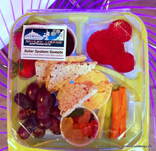 Tomorrowland Skyline Lounge Experience Allergen Snack Box