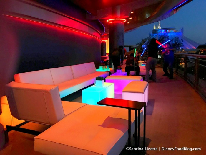 Tomorrowland Skyline Lounge Experience Decor
