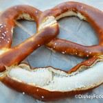 Review: New Jumbo Pretzel in (where else?) Epcot's Germany Pavilion
