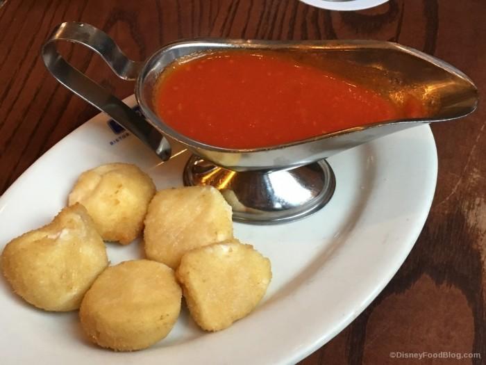 Fried Mozzarella at Via Napoli