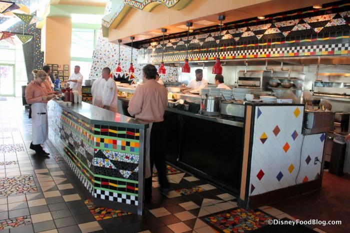 Wolfgang Puck Cafe Kitchen