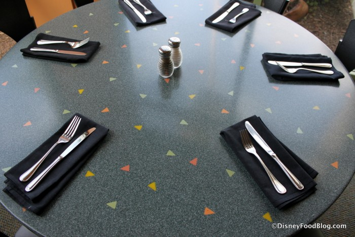 Wolfgang Puck Cafe Table Setting