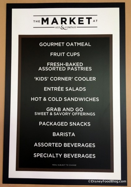 The Market Offerings Sign