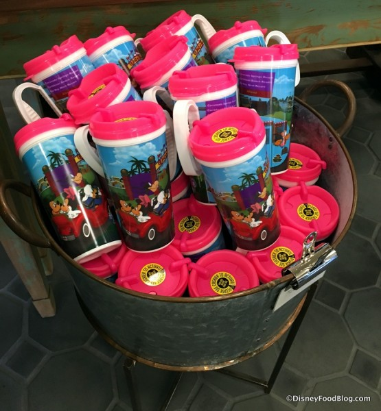 Rapid Fill Refillable Resort Mugs