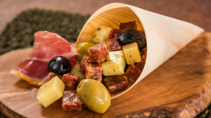 Charcuterie in a Cone from Spain ©Disney