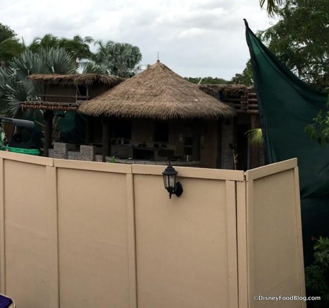 Choza de Margarita construction