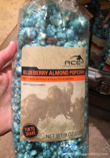 Blueberry Almond Popcorn