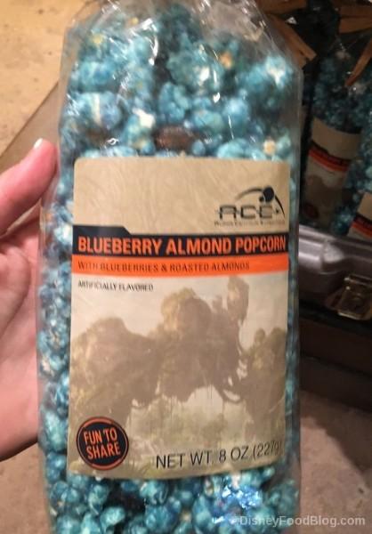 Blueberry Almond Popcorn